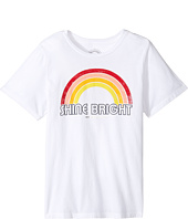 Spiritual Gangster Kids - Retro Rainbow Tee (Big Kids)
