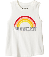 Spiritual Gangster Kids - Retro Rainbow Muscle Tank Top (Toddler/Little Kids/Big Kids)
