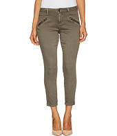 Jag Jeans Petite - Petite Ryan Skinny Freedom Colored Knit Denim in Lava Rock
