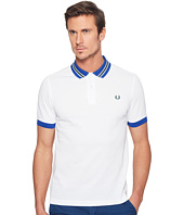 Fred Perry - Bomber Stripe Collar Pique Shirt