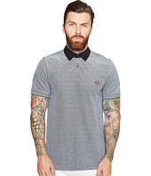 Fred Perry - Polka Dot Oxford Pique Shirt
