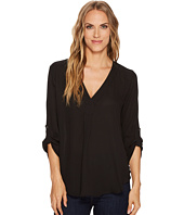 Stetson - 1403 Solid Poly Crepe Peasant Top