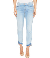 7 For All Mankind - Roxanne Ankle w/ Angled Hem in Ocean Breeze