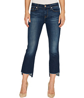7 For All Mankind - Cropped Boot w/ Step Hem in Dark Paradise