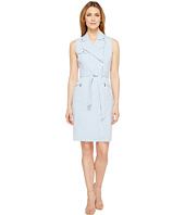 Calvin Klein - Moto Belted Dress CD6X55F7