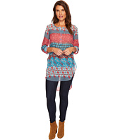 Roper - 1296 Multi Printed Georgette Tunic
