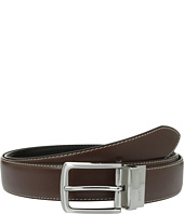Steve Madden - 35mm Casual Feather Edge Reversible Belt