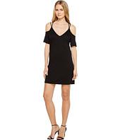 Lanston - Cold Shoulder X Strap Dress