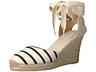 Striped Tall Wedge