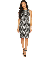 Calvin Klein - Jacquard Compression Sheath Dress