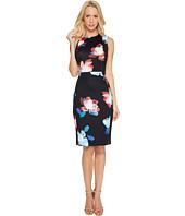 Calvin Klein - Floral Print Scuba Dress
