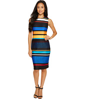 Calvin Klein - Stripe Scuba Sheath Dress