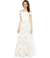 Adrianna Papell - Organza Full Circle Skirt Dress