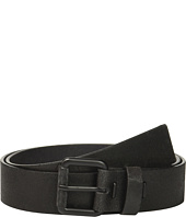 Calvin Klein - 40mm Crackle Finish Belt w/ Roller Buckle