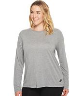 Nike - Sportswear Essential Long-Sleeve Top (Size 1X-3X)