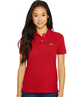 Lacoste - Short Sleeve Two-Button Classic Fit Pique Polo