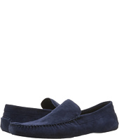 a. testoni - Suede Lined Cashmere Slipper