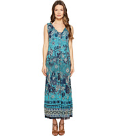 FUZZI - Long Reversible Batik Dress Cover-Up