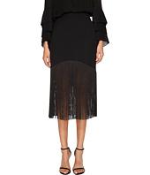 Prabal Gurung - Polycrepe Fringe Skirt