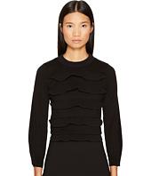 Sonia Rykiel - Cotton with Tech Ruffles Sweater