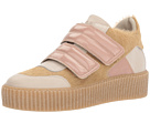 Mixed Material Creeper Low Top