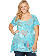 Extra Fresh by Fresh Produce - Plus Size Colored Pencils Vintage Drape Tee