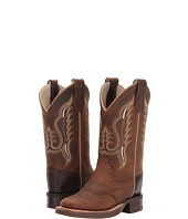 Old West Kids Boots - Broad Square Toe (Toddler/Little Kid)