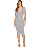 Lanston - Ruched T-Shirt Dress