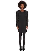 Sportmax - Gap Long Sleeve Jersey Nylon Sleeves Dress
