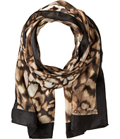 Calvin Klein - Abstract Animal Silk Scarf