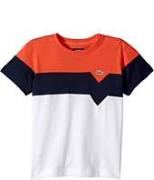 Lacoste Kids - Short Sleeve Color Block T-Shirt (Little Kids/Big Kids)
