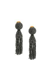 Oscar de la Renta - Short Beaded Tassel C Earrings