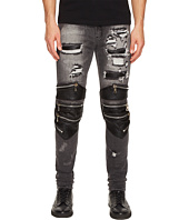 God's Masterful Children - Radburn Patchwork Biker Jeans