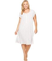 Eileen West - Plus Size Cotton Waltz Nightgown