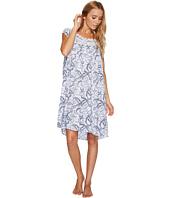 Eileen West - Paisley Woven Short Nightgown