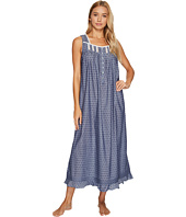 Eileen West - Chambray Clip Dot Ballet Nightgown