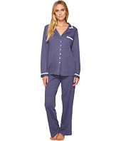 Eileen West - Cotton Interlock Notch Collar Pajamas