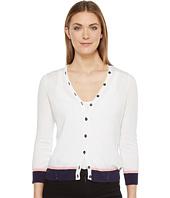 Ivanka Trump - Button Front Sweater