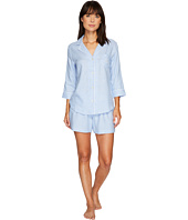 LAUREN Ralph Lauren - 3/4 Sleeve Notch Collar Boxer PJ Set