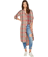 Free People - Loralei Plaid Button Down Top