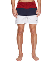 Fred Perry - Striped Panel Swimshorts