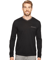 Calvin Klein - Textured Jersey Contrast Welt Pocket Shirt