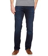 Calvin Klein Jeans - Slim Straight Jeans in Muted Neon Blue Wash