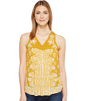 Lucky Brand - Floral Lace Yoke Tank Top