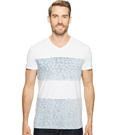 Calvin Klein Jeans - Reverse Blotch Color Block V-Neck T-Shirt