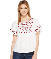 Lucky Brand - Hannah Embroidered Top