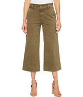 Lucky Brand - Wide Leg Crop in Dark Olive