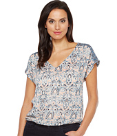 Lucky Brand - V-Neck Peasant Top