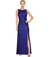 Adrianna Papell - Stretch Lace Cowl Back Gown