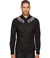 Versace Collection - Baroque Detailed Button Down